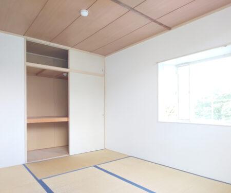 和室6帖の収納庫♪